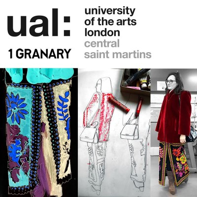 My feature in 1Granary, Central Saint Martins:  Maria's take on CSM students' recognisability