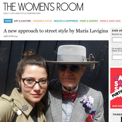 A new approach to street style by Maria Lavigina, 23rd June 2015