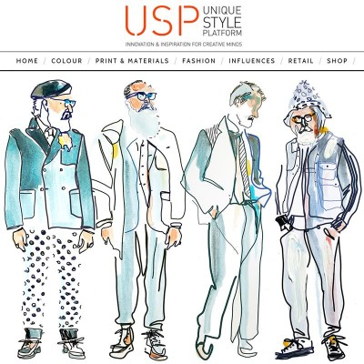 My illustrations for Unique Style Platform.  Unique Style Platform is a world class forecasting service for the fashion and lifestyle industries, offering curated insights to inform the creative process and inspire innovation.